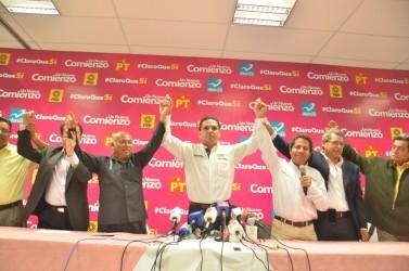 Convicción Mexicana por la Democracia se suma con Silvano Aureoles