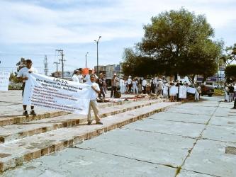 IMSSS ISSTE Protestas Michoacán