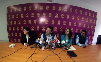 PRD pide a gobierno combatir delincuencia en Michoacán