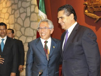 Silvano Aureoles y Salvador Jara
