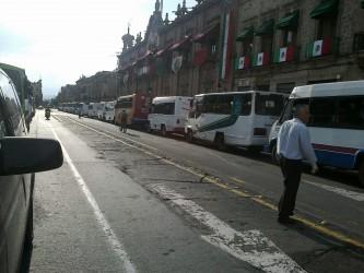 Transportistas en Michoacán