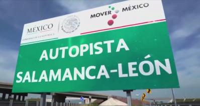 Autopista Salamanca León Inconclusa