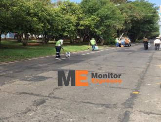Continúa eliminación de ciclovía peligrosa de García de León en Morelia