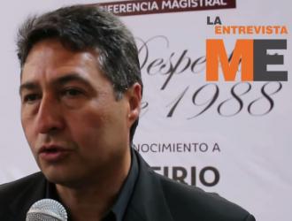 Entrevista Víctor Manuel Báez Ceja en Pátzcuaro (reconicimiento a Porfirio Muñoz Ledo)