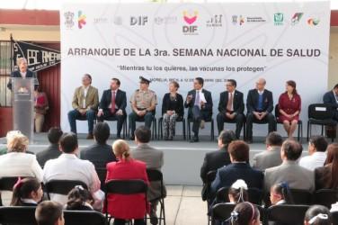 600 escuelas beneficiadas con Semana de Salud en Morelia