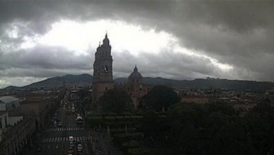 Catedral de Morelia/Clima Nublado