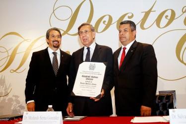 Cuauhtémoc Cárdenas Solórzano doctorado Honoris Causa por la Universidad Michoacana