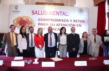 Diputados de Michoacán se comprometen a redoblar esfuerzos en materia de Salud mental