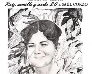 Exhiben obra gráfica de Saúl Corzo