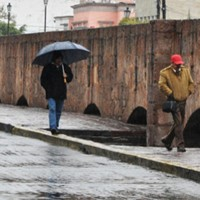 Lluvias puntuales intensas en Chiapas y muy fuertes en Michoacán, Guerrero, Oaxaca y Campeche