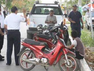 Operativo contra motocicletas sin papeles