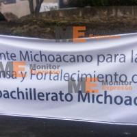 Toman dirección de Telebachillerato en Michoacán, demandan pagos