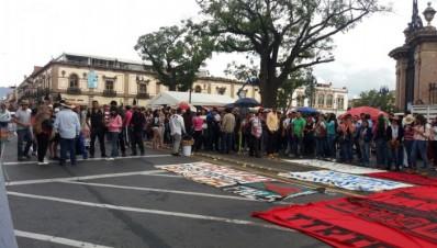 Festival de Mapping en Morelia será bloqueado por nomalistas con autobuses secuestrados