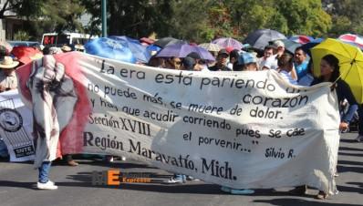 Marcha CNTE Michoacán