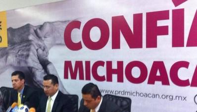 PRD Michoacán exhorta al gobierno federal a posponer el apagón analógico