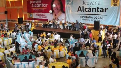 PRD se suma a candidatura común con Nueva Alianza en distrito de Hidalgo Michoacán