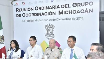 Encabeza Silvano Aureoles reunión del Grupo de Coordinación Michoacán