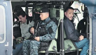 El Chapo detenido
