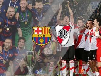 Barcelona y River Plate, por el Mundial de Clubes