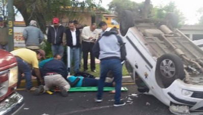 Accidente en Uruapan