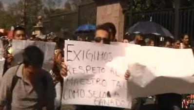 Delfino Paredes Pares de Familia de Michoacán