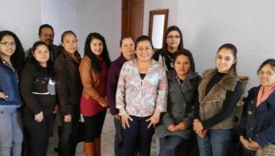 Diputada de Puruándiro Michoacán Belinda Iturbide Invita a su casa de gestión
