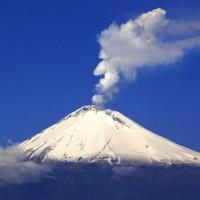 Explosión en Volcán Popocatépetl esta madrugada (Video)