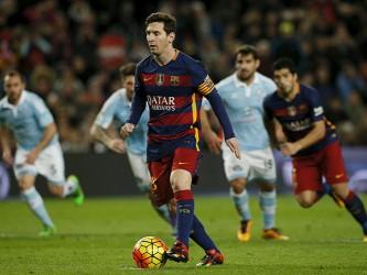 Messi Cobrando penal