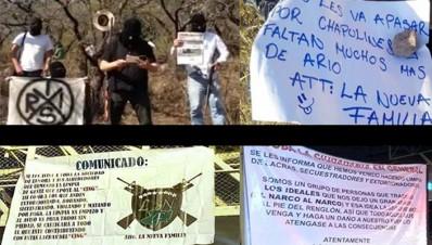 Nuevos Carteles en Michoacán