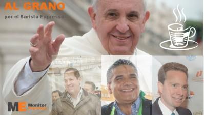 El ungimiento de los presidenciables en México por el papa Francisco