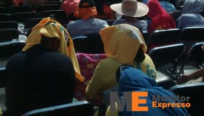 Estadio Morelos de Morelia visita del papa 3 pm una hora antes del evento 3
