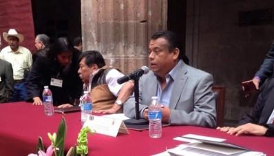 Hugo Domínguez Nieto ex sub rpcurador de Apatzingán