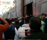 Morelia enfrentamiento empleados municipales