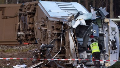 Accidente de tren deja 1 muerto y 10 heridos en Holanda