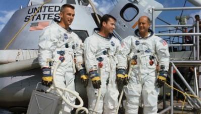 astronautas del apolo 10