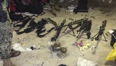 Un rifle de 'Rápido y Furioso', entre las armas del 'Chapo