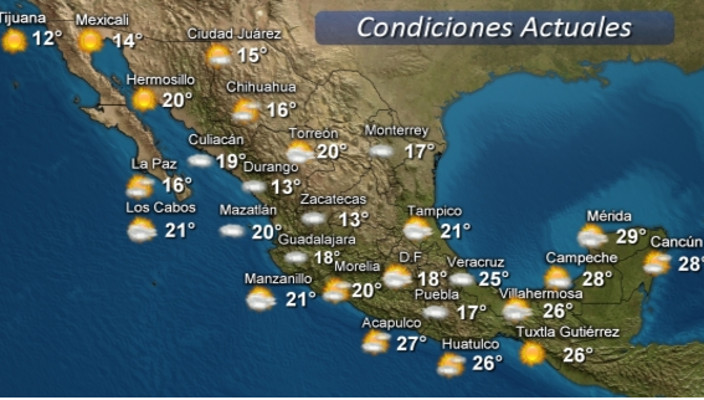 Temperaturas de hasta 40 c para michoac n 26 de marzo 2016 for Noticias mas recientes del medio del espectaculo