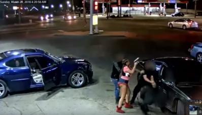 Dispara a quemarropa en gasolinería de Detroit Michigan Estados Unidos