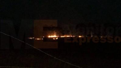 Incendio en Altozano