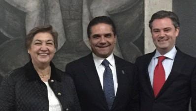 Silvano Aureoles Conejo, Silvia Figueora Zamudio Ernesto Nuño Mayer