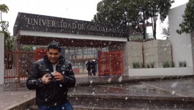 Nevado en Jalisco en mas de 10 comunidades