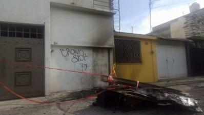 Incendian local de la casa de las 3 niñas muertas