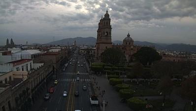 Michoacán nublado
