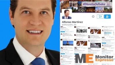 Alfonso Martínez se apoya de cuentas falsas en las redes sociales para aumentar popularidad