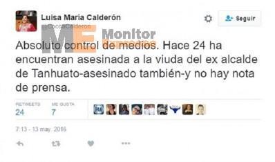 Luisa María Calderón Twitter