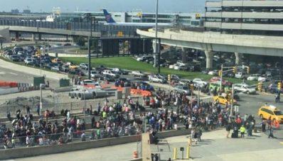 Aeropuerto Nueva york desalojado