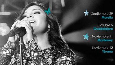 Morelia esperaba la venida de la cantante yuridia