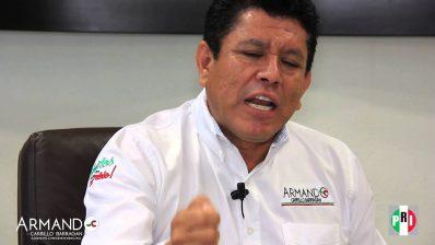 Armando Carrillo Barragán- Presidente municipal de Lázaro Cárdenas (PRI)