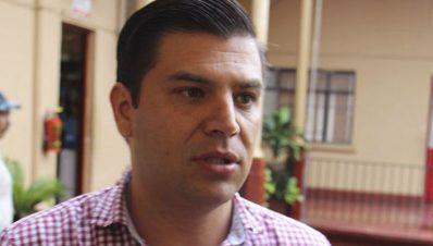 Presidente municipal de Apatzingán- César Chávez Garibay