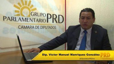 Presidente municipal de Uruapan- Víctor Manuel Maríquez (PRD)